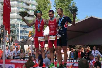 Tomáš Řenč z mistrovství Evropy v dlouhém triatlonu si přivezl stříbro