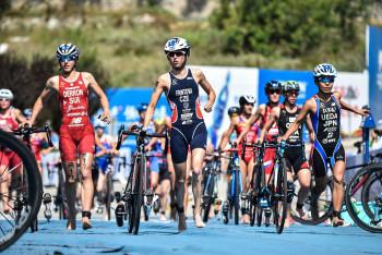 Česká triatlonistka Vendula Frintová doběhla na SP v Sarasotě na třetím místě