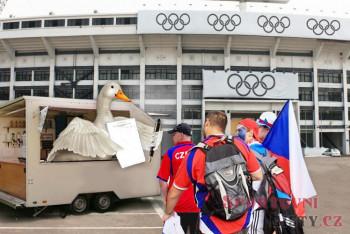 Češi zachraňují olympiádu